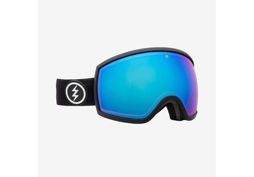 Electric Sunglasses Electric EGG Matte Black Brose Blue Chrome