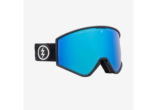Electric Sunglasses Electric Kleveland Matte Black Brose Blue Chrome
