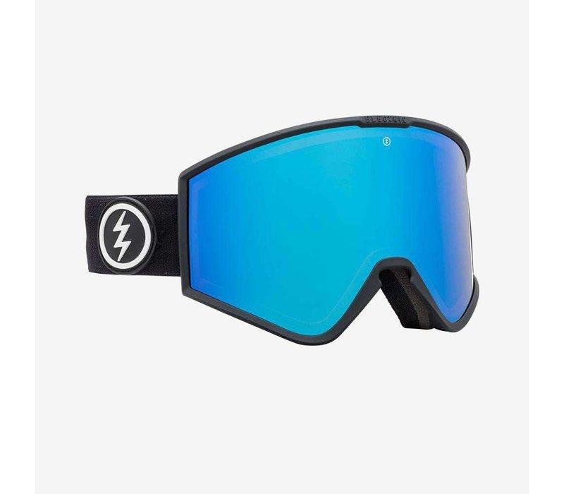 Electric Kleveland Matte Black Brose Blue Chrome