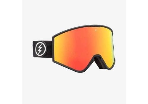 Electric Sunglasses Electric Kleveland Matte Black Brose Red Chrome