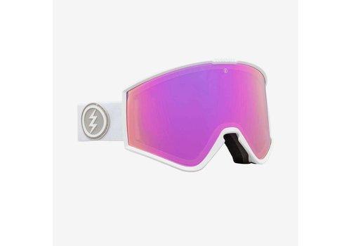 Electric Sunglasses Electric Kleveland Matte White Brose Pink Chrome