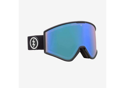 Electric Sunglasses Electric Kleveland+ Matte Black Photochromic Blue