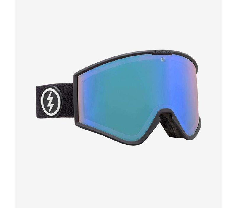 Electric Kleveland+ Matte Black Photochromic Blue