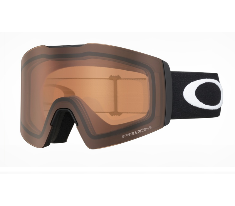 Oakley Fall Line XL Matte Black Prizm Snow Persimmon