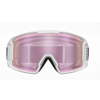 Oakley Line Miner XM Matte White Prizm Snow HI Pink Iridium