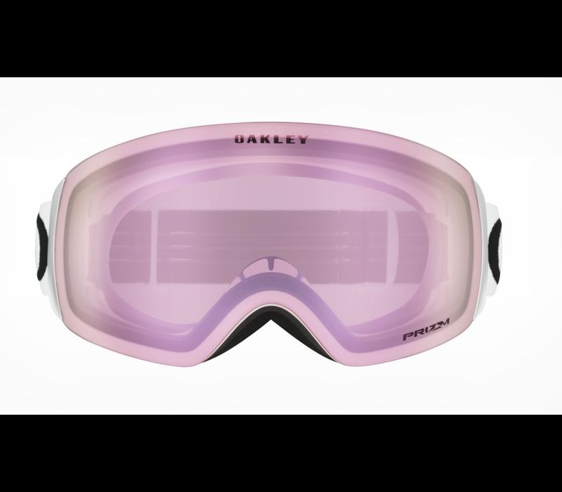 Oakley Flight Deck XM Matte White Prizm Hi Pink Iridium