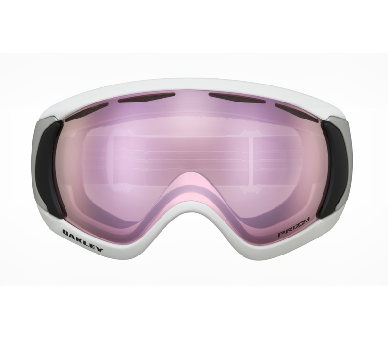 Oakley Canopy Matte White Prizm Hi Pink Iridium