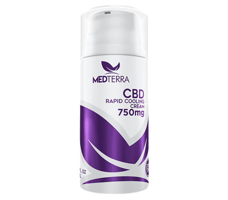 Medterra CBD Topical Cooling Cream 750mg