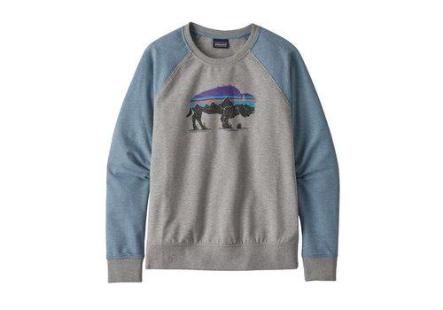 Patagonia Patagonia W's Fitz Roy Bision Ahnya Crew Sweatshirt Drifter Grey