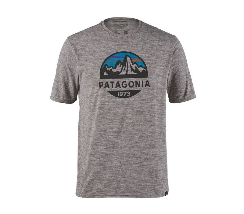 Patagonia M's Cap Cool Daily Graphic Shirt Feather Grey
