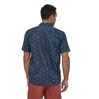 Patagonia M's Go To Shirt Surfers: Stone Blue