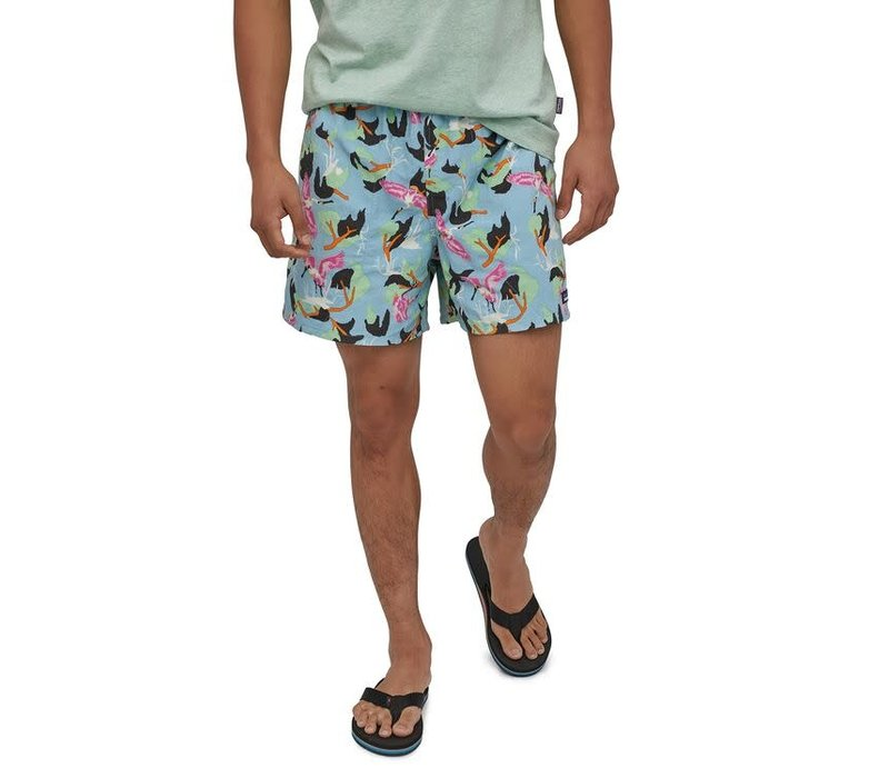 Patagonia M's Baggies Shorts - 5in Spoonbills: Big Sky Blue