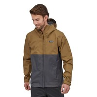 Patagonia M's Torrent Shell 3L Jacket coriander Brown
