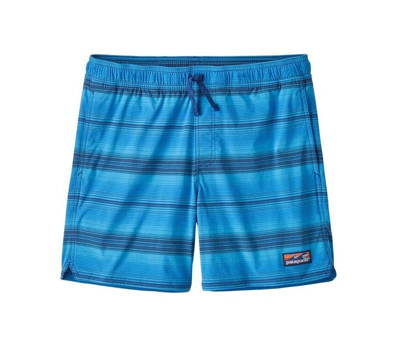 Patagonia M's Stretch Wavefarer Volley Shorts - 16 in. Ration: Bayou Blue