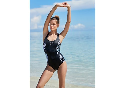 Roxy Roxy Fitness Tech One Piece True Black Story of Sunshine