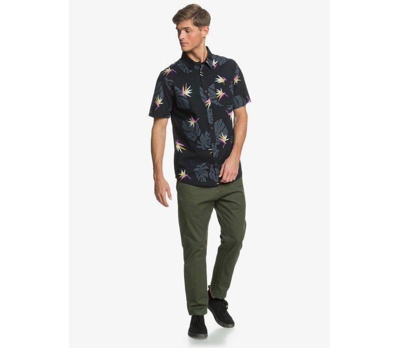 Quiksilver Paradise Shirt SS Paradise Black