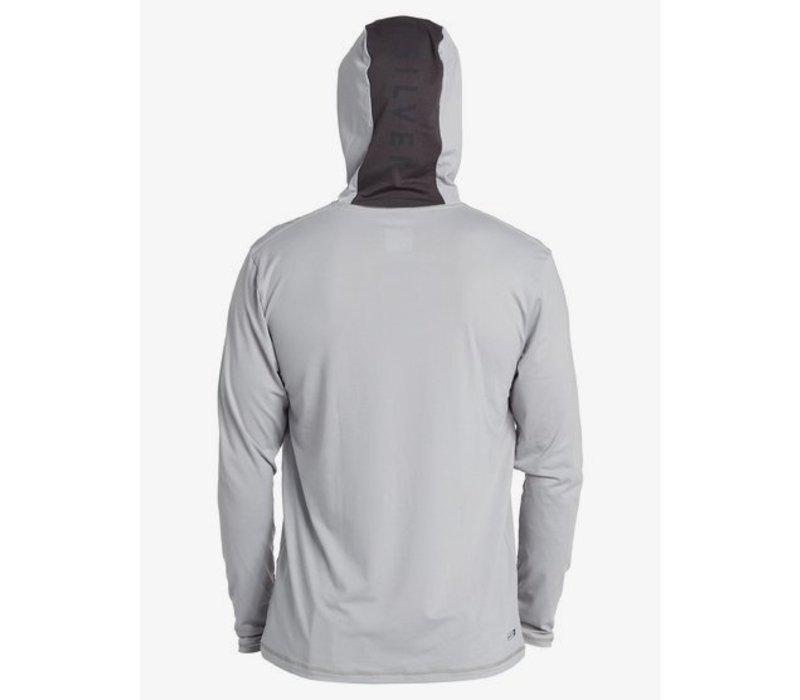 Quiksilver Dredge Hooded LS Sleet