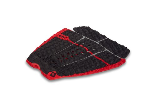 Dakine Dakine John John Florence Pro Surf Traction Pad Black/Red