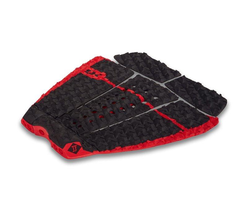 Dakine John John Florence Pro Surf Traction Pad Black/Red