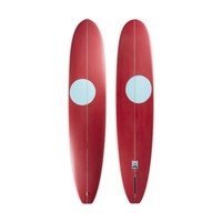 "3rd Coast Surfboards 9'6"" Chief V8 Red w/Teal Dot"