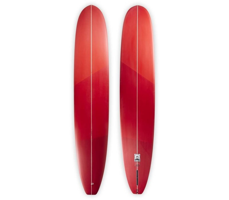 """3rd Coast Surfboards 9'0"""" Chief V8 Red Ombre"""