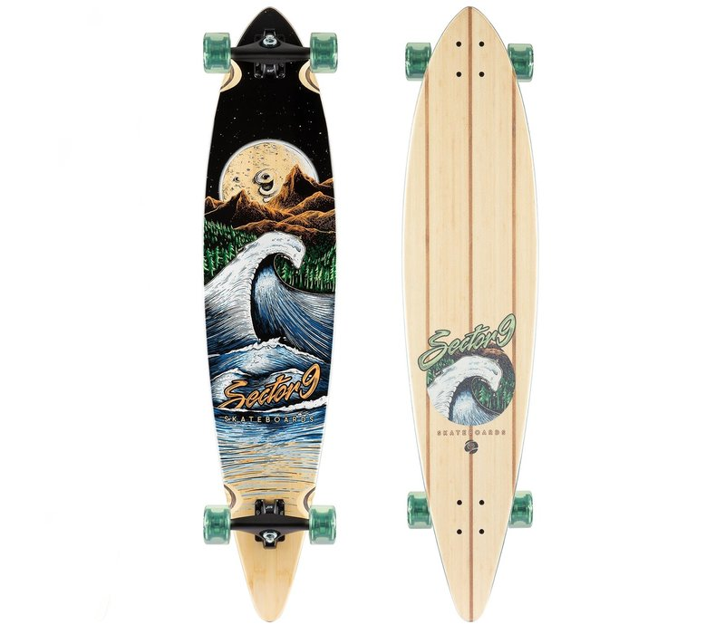 "Sector 9 Moonlight Maverick Complete 44"" x 9.75"""
