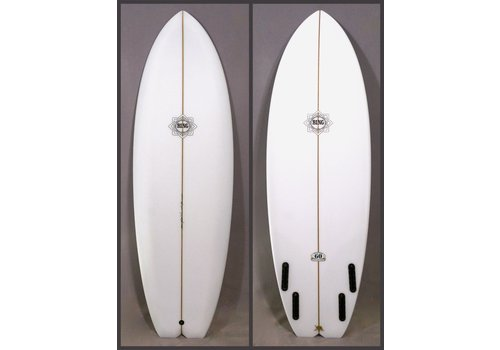 "Bing Surfboards Bing Dharma 6'4"" Applecore Stringer w/ Black Glue Lines Gloss"