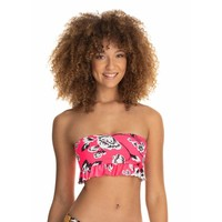Maaji Festival Juggler 2 way Reversible Bandeau Bikini Top
