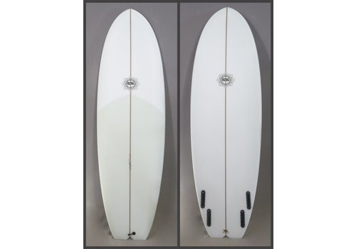 Bing Surfboards Bing 6'0 Dharma Applecore Stringer Clear Tint