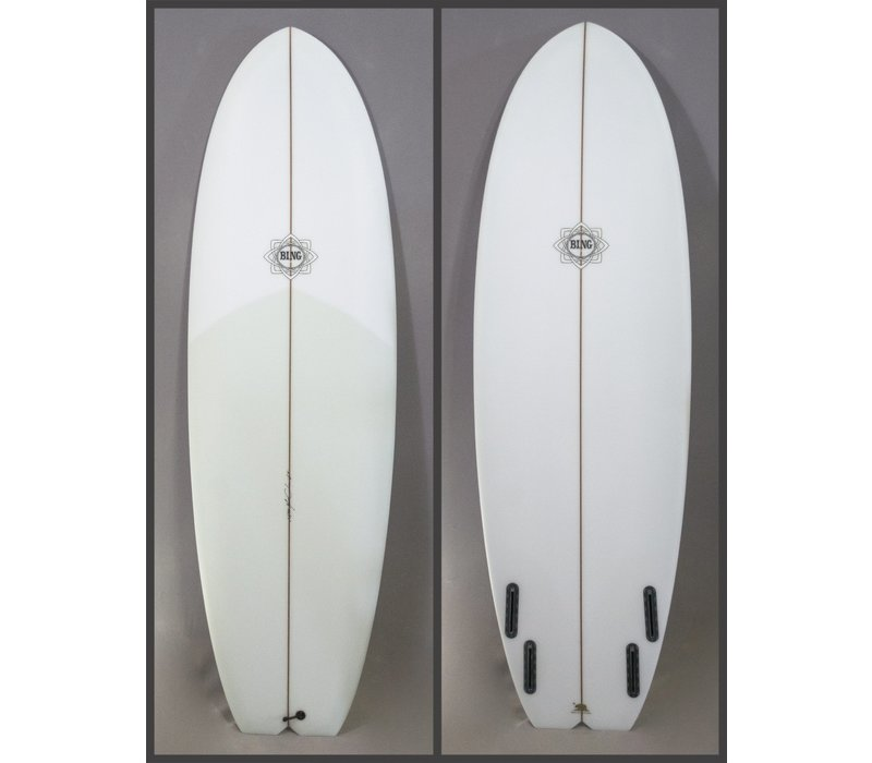Bing 6'0 Dharma Applecore Stringer Clear Tint