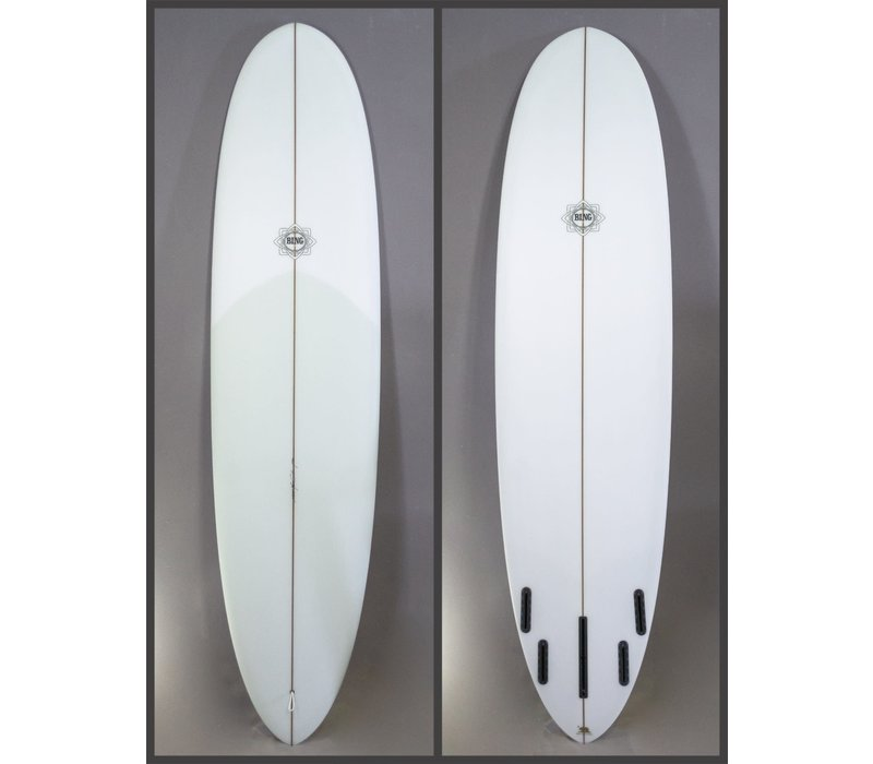 Bing 7'6 Collector Applecore Stringer Clear Tint
