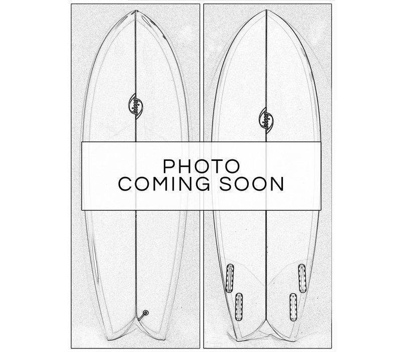 "3rd Coast Surfboards 6'10"" Warrior V8 Blue Ombre"