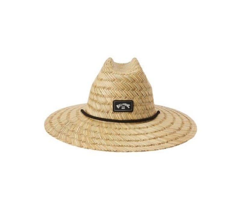 Billabong Tides Straw Lifeguard Hat Natural