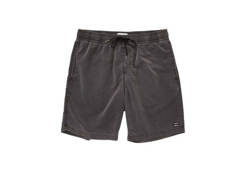 Billabong Billabong All Day Overdye Layback Boardshorts Black