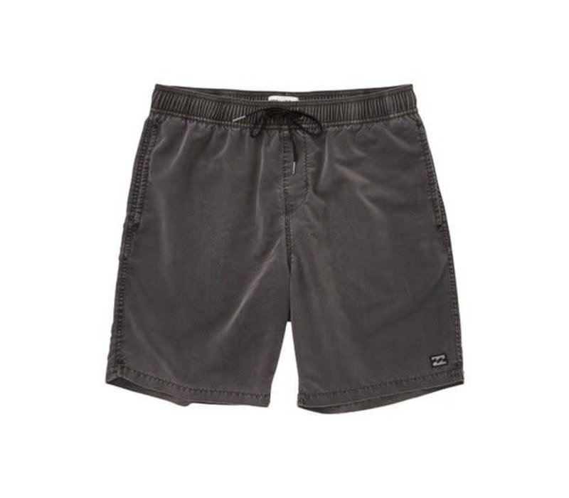 Billabong All Day Overdye Layback Boardshorts Black