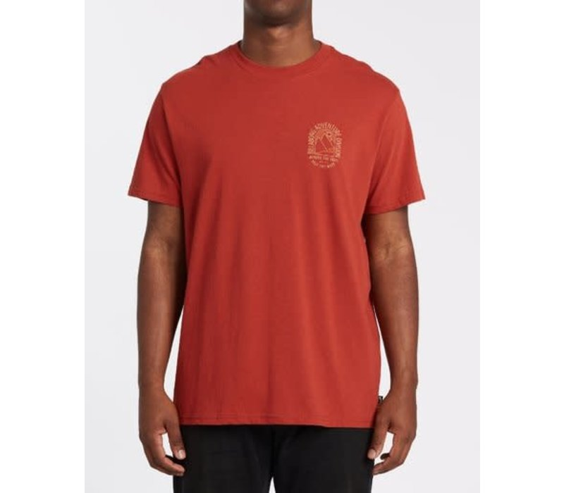 Billabong Beyond Short Sleeve T-Shirt Terracotta