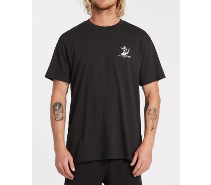 Billabong Olas Falsas Short Sleeve T-Shirt Black