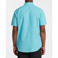 Billabong All Day Short Sleeve Shirt Dark Mint