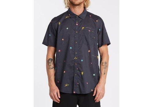 Billabong Billabong Truffula Short Sleeve Shirt Charcoal