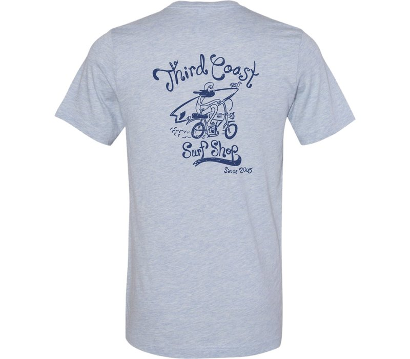 Third Coast Since 2005 Tee - Navy Heather