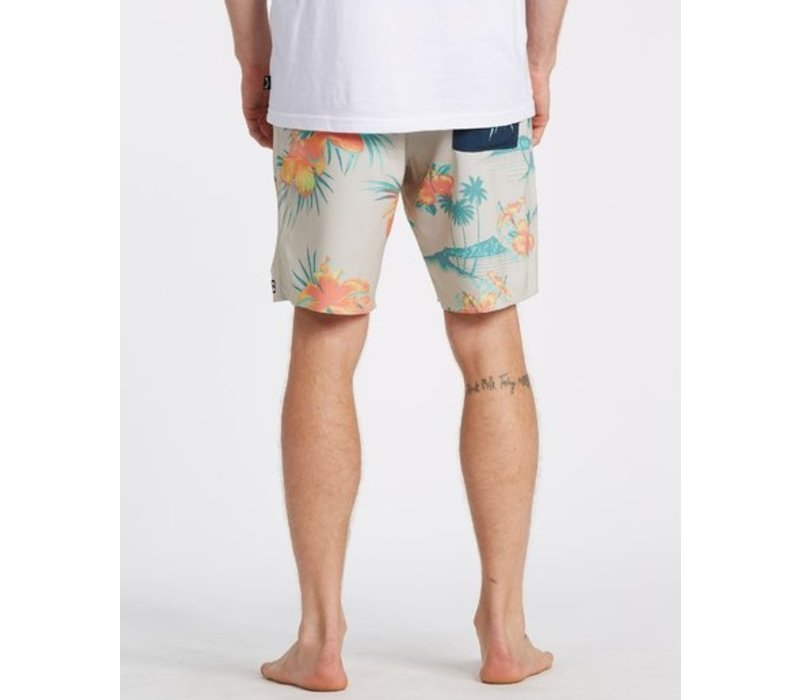 Billabong Sundays Interchange Pro Boardshorts Stone