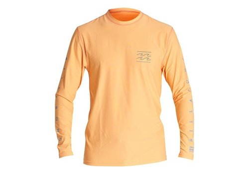 Billabong Billabong Unity Loose Fit Long Sleeve Surf Shirt Cantaloupe