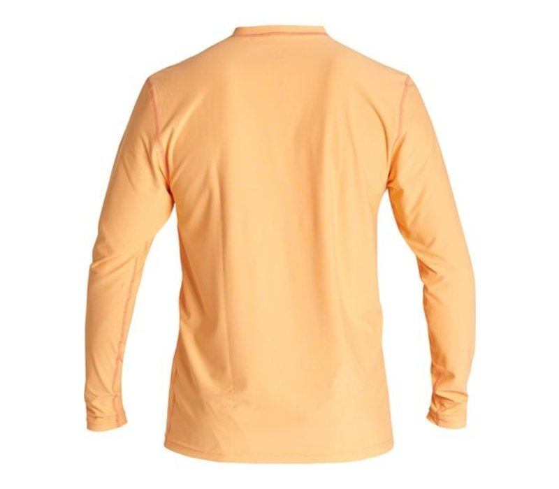 Billabong Unity Loose Fit Long Sleeve Surf Shirt Cantaloupe