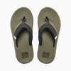Reef Reef Fanning Low Olive