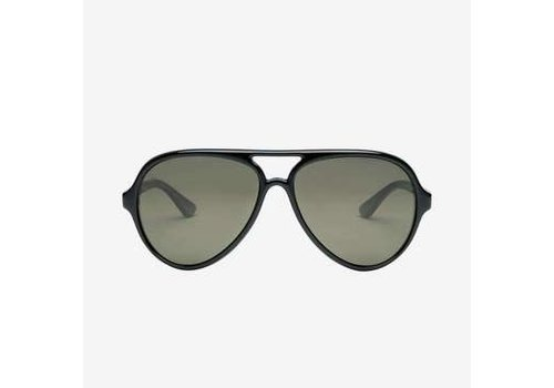 Electric Sunglasses Electric Elsinore Matte Black Silver Polarized