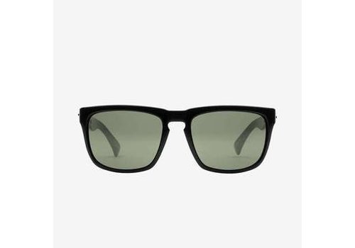 Electric Sunglasses Electric Knoxville Gloss Black Mineral Glass Polarized Grey
