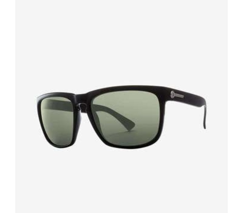 Knowville XL Gloss Black Grey Polarized