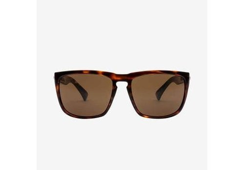Electric Sunglasses Electric Knoxville XL Gloss Tort Minerial Glass Polarized Bronze
