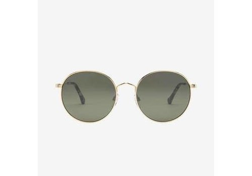 Electric Sunglasses Electric Hampton Shiny Gold Grey