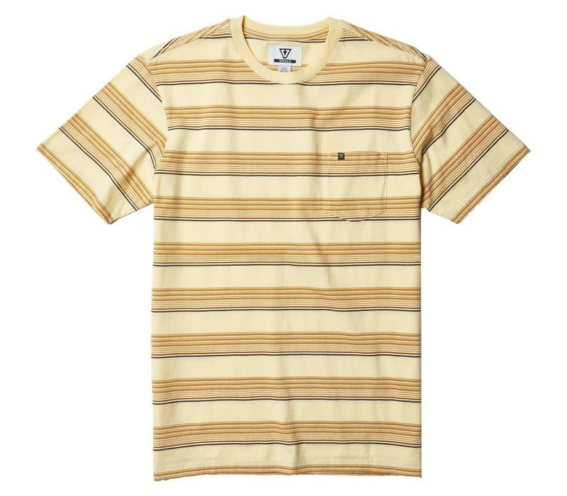 Vissla Cruiser Eco Knit Tee Mellow Yellow